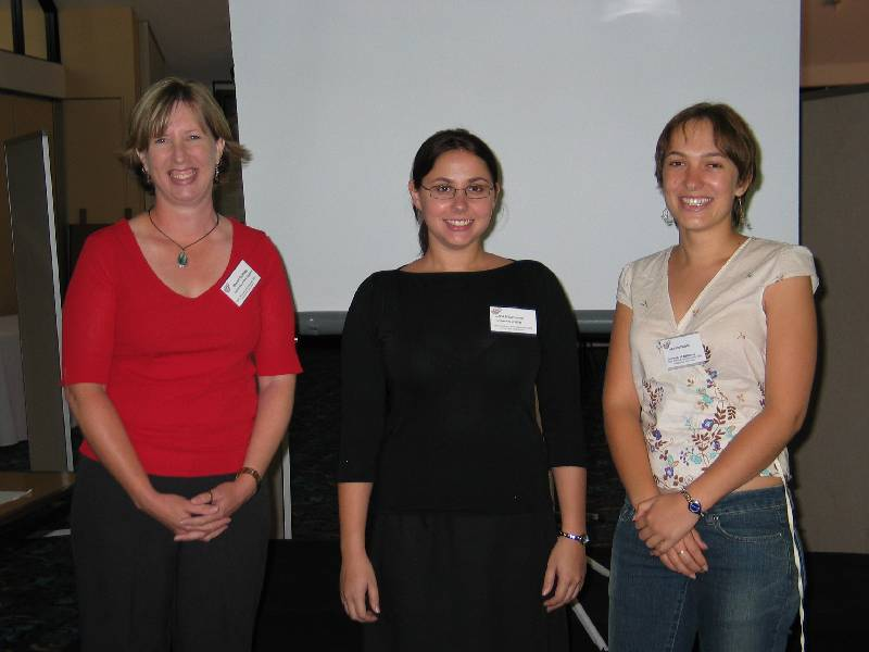 From left to right: Sharon Guffogg, Linda Palmisano and Joanne Hulet